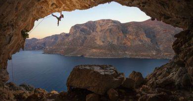 L'île grecque Kalymnos de l'archipel du Dodécanèse